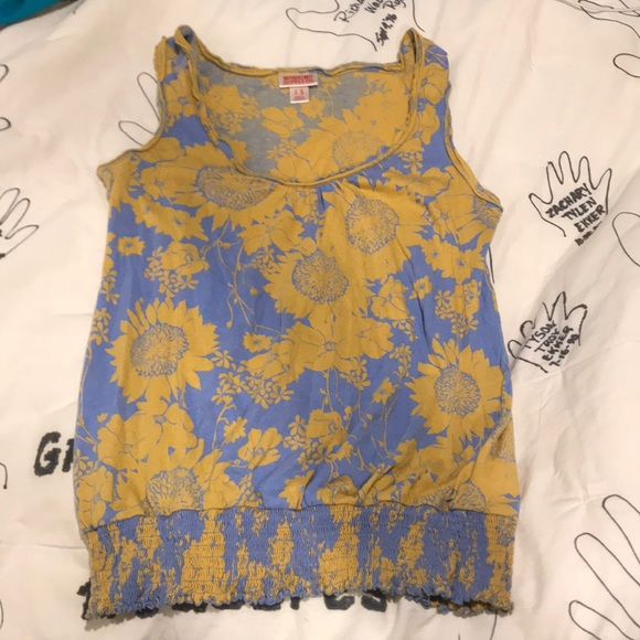 Mossimo Supply Co. Tops - Floral summer tank top